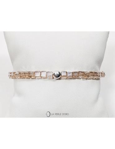 Bracelet, Bohemian Cristal...