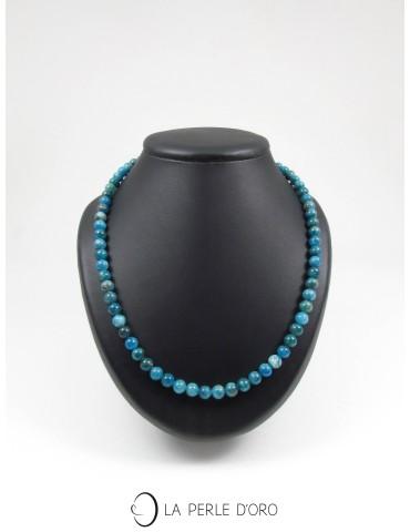 Apatite, short necklace,...
