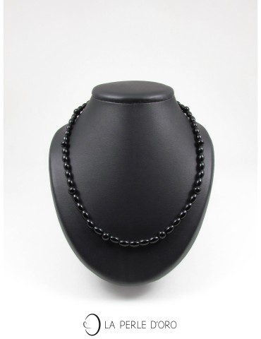 Onyx, short necklace,...