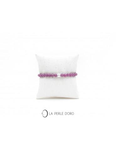 Rubis, Bracelet 6mm,...