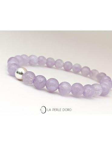 Améthyste light, bracelet...
