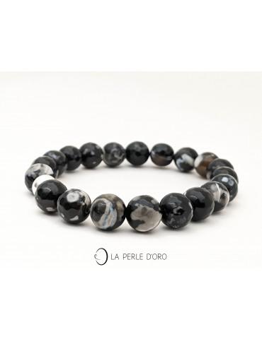 Facetted agate Bracelet