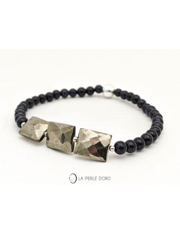 Pyritis bracelet, Gems...