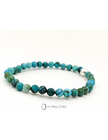 Turquoise naturelle 4mm,...