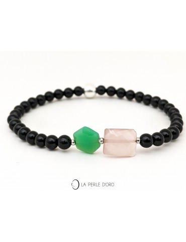 Chrysoprase and pink...