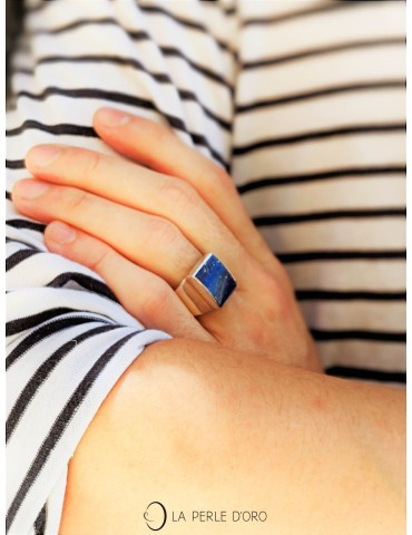 Lapis lazuli, Bague...