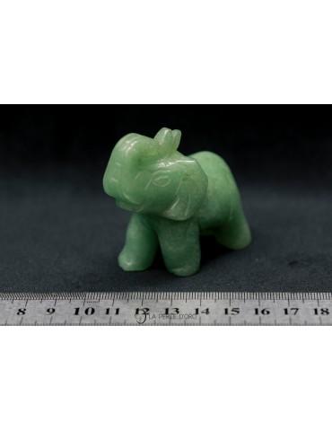 Aventurine verte, Éléphant...