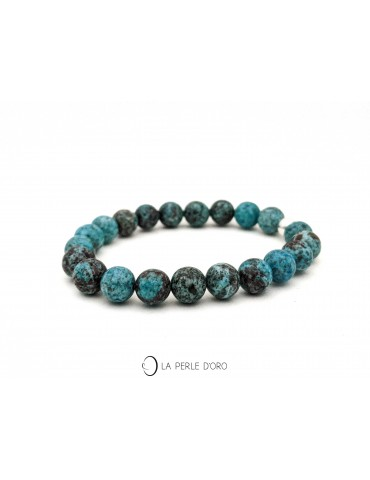 Chrysocolle bleu naturel...