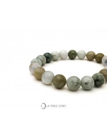 Jade naturel de Chine 10mm,...