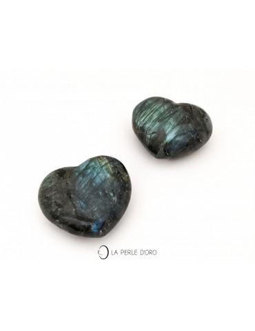 Labradorite, Coeurs 7cm,...