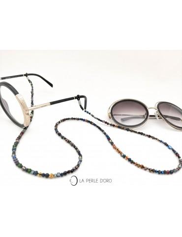 Cordon à lunettes sombre,...