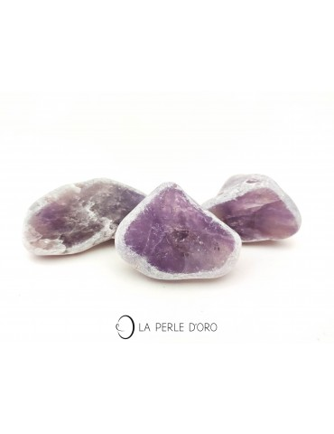 Amethyst pebbles, sold...