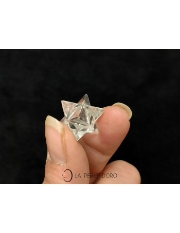 Rock Crystal Merkaba