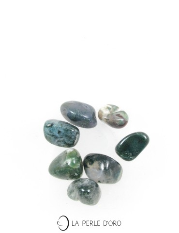 Moss Agate pebble, sold...