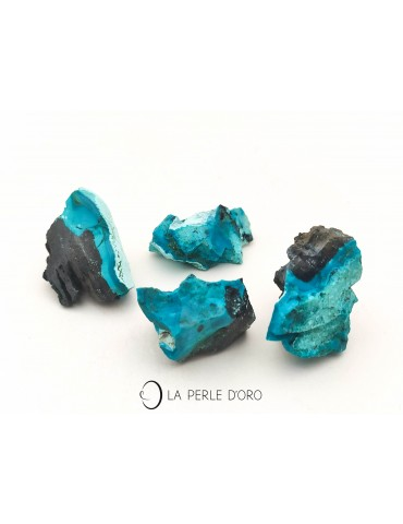 Raw Natural Chrysocolle Stones