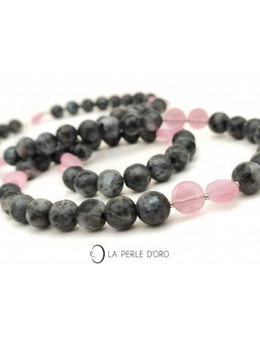 Black Labradorite necklace