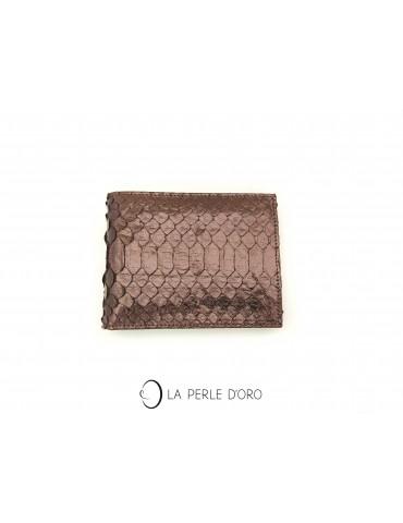 Snakeskin Leather Wallet