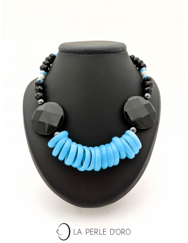 Short Necklace, onyx,...