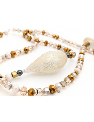 Long necklace, Murano...