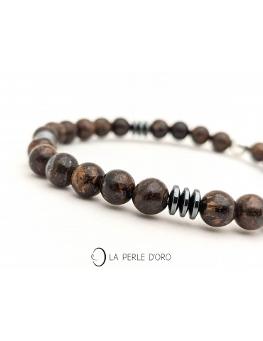 Bronzite bracelet, Messager...