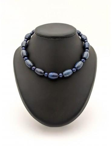 Lapis Lazuli, Ras de cou en...