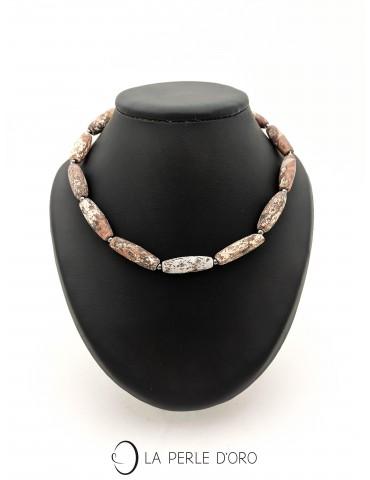 Short Necklace, Jasper,...