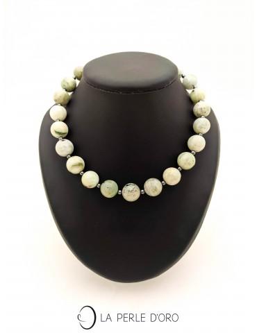 Jade, short necklace,...