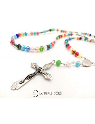 Rosary, Bohemian Cristal,...