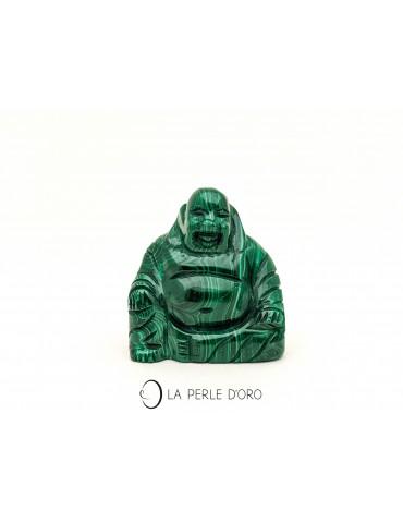 Malachite bouddha