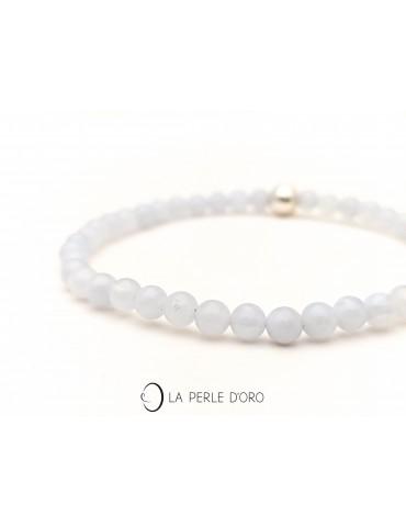 Blue chaldonia bracelet,...