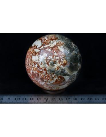 Grande sphère en Jaspe...