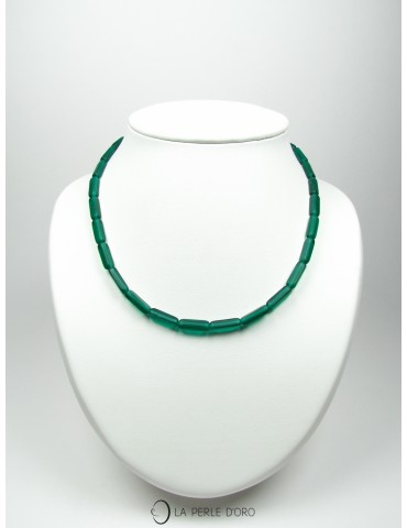 Short Maya Necklace, Forest...