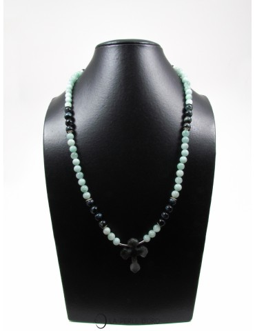 Amazonite long necklace,...