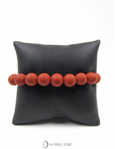 Jaspe rouge mat, Bracelet 10mm, Collection Homme