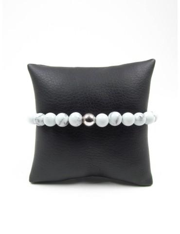 Bracelet en Howlite teintée...