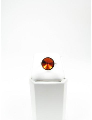 Bague Solitaire en cristal...