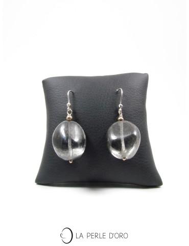 Boucles d'oreilles en verre...