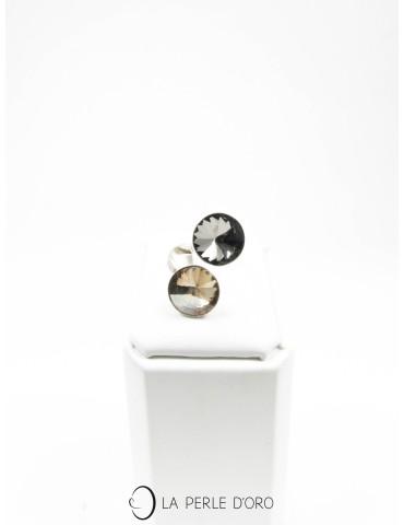 Swarovski crystal ring, You...