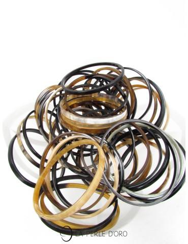 Natural horn bracelets