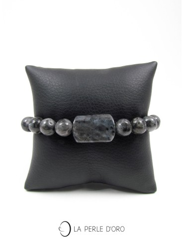 Labradorite noire, Bracelet...