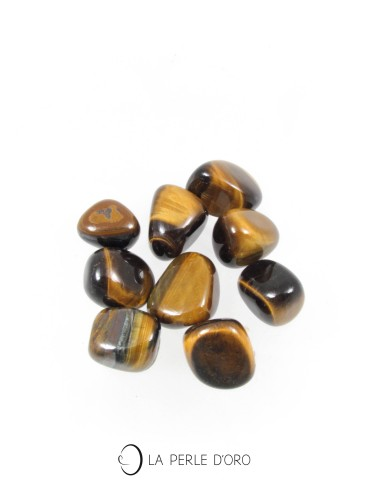 Tiger eye pebbles