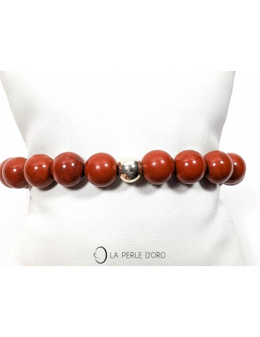 Jaspe rouge, Bracelet 10mm