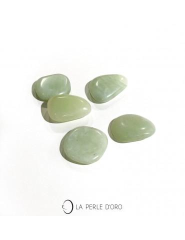 Jade naturel, Galet de soin...