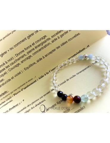 Lien de vie, 11 à 15 ans, Bracelet adolescent 6mm