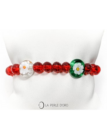 Bracelet en verre de Murano...