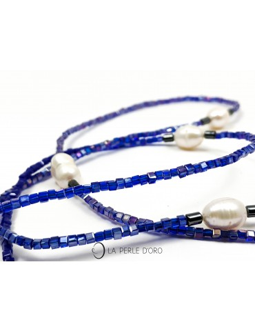 Sautoir perles naturelles...