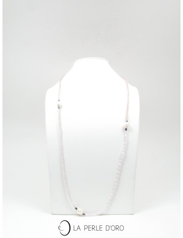 Long Necklace, Natural...