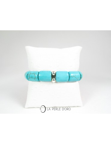 howlite teintée, Bracelet 15mm