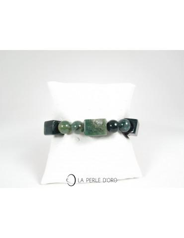 Bracelet en Agate mousse...