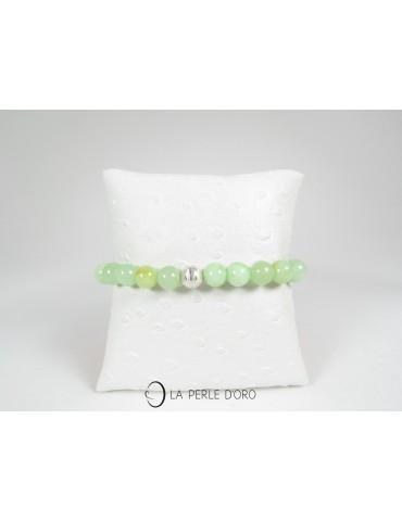 Quartz vert, Bracelet 8mm
